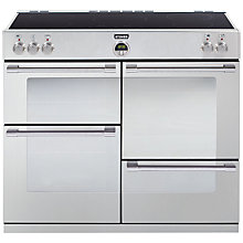 Buy Stoves Sterling 1100EI Induction Hob Range Cooker, Stainless Steel Online at johnlewis.com