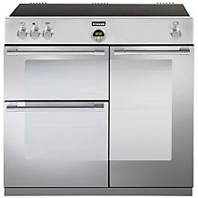 Buy Stoves Sterling 900EI Induction Hob Range Cooker, Stainless Steel Online at johnlewis.com