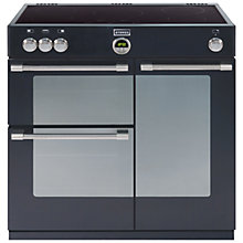 Buy Stoves Sterling 900EI Induction Hob Range Cooker, Black Online at johnlewis.com