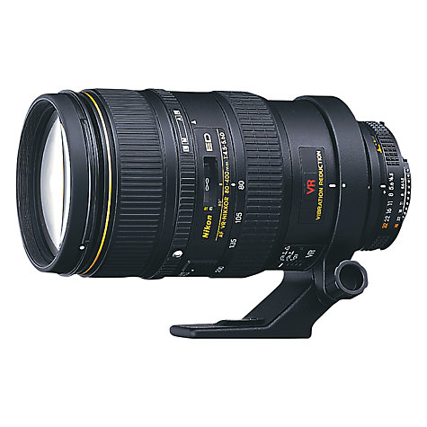 Buy Nikon FX 80-400mm f/4.5-5.6D ED VR AF Telephoto Lens Online at johnlewis.com