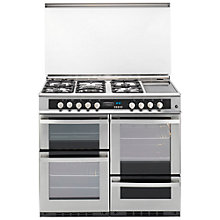 Buy Leisure DC10FRXP Dual Fuel Range Cooker, Stainless Steel Online at johnlewis.com