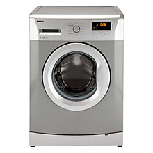 Buy Beko WMB61631S Washing Machine, 6kg Load, A+ Energy Rating, 1600rpm Spin, Silver Online at johnlewis.com