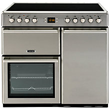 Buy Leisure CMCE96X Electric Range Cooker, Stainless Steel Online at johnlewis.com