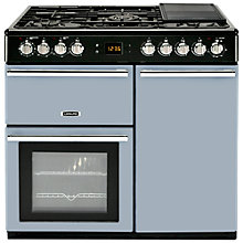 Buy Leisure CMCF99B Dual Fuel Range Cooker, Blue Online at johnlewis.com