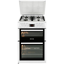 Buy Leisure LGV68W Gas Cooker, White Online at johnlewis.com