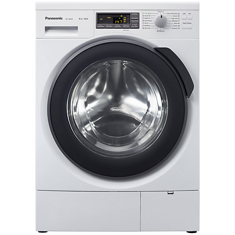 Buy Panasonic NA-148VG4 Washing Machine, 8kg Load, A+++ Energy Rating, 1400rpm Spin, White Online at johnlewis.com