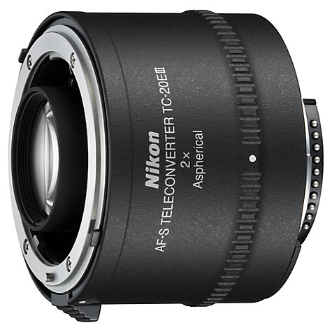 Buy Nikon TC-20E III AF-S Teleconverter Online at johnlewis.com