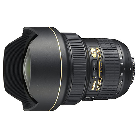Buy Nikon FX 14-24mm f/2.8G ED AF-S Standard Lens Online at johnlewis.com