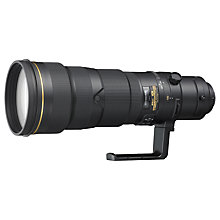 Buy Nikon FX 500mm f/4G IF ED VR II AF-S Telephoto Lens Online at johnlewis.com