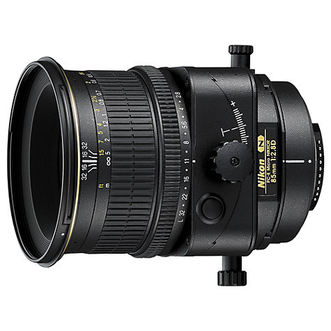 Buy Nikon PC-E 85mm f/2.8D ED Lens Online at johnlewis.com