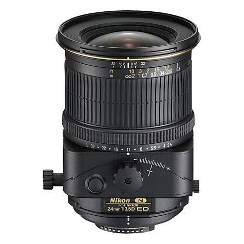 Buy Nikon PC-E 24mm f/3.5D ED Lens Online at johnlewis.com