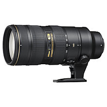 Buy Nikon FX 70-200mm f/2.8G ED VR II AF-S Telephoto Lens Online at johnlewis.com