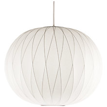 Buy George Nelson Bubble Crisscross Ball Ceiling Light Online at johnlewis.com