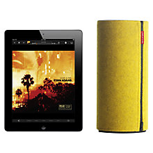 Buy Libratone ZiPP Wireless Speaker with Apple AirPlay, Funkey Collection Covers, Black/Yellow/Pink Online at johnlewis.com