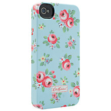 Buy Cath Kidston Kensington Rose Case for iPhone 4 & 4s, Blue Online at johnlewis.com