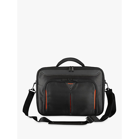 "Buy Targus CN418 Classic+ 17-18"" Laptop Messenger Bag, Black Online at johnlewis.com"