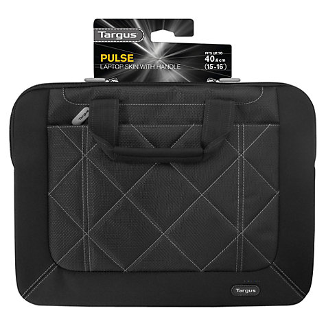 "Buy Targus Pulse Slipcase for 13-14.1"" Laptops, Black/Grey Online at johnlewis.com"