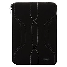 "Buy Targus Pulse Sleeve for 13.4-14.1"" Laptops, Black/Grey Online at johnlewis.com"