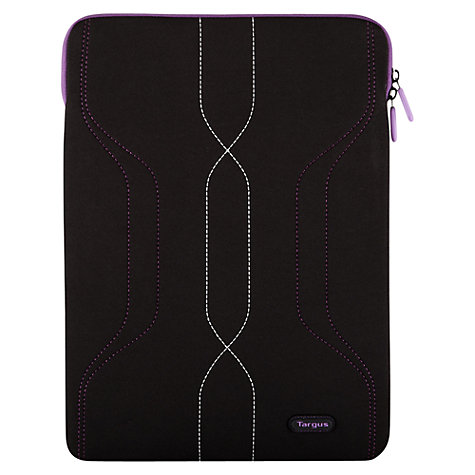 "Buy Targus Pulse Sleeve for 15.4-16"" Laptops, Black & Grey Online at johnlewis.com"