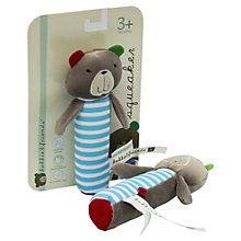 Buy Kimber Kids Bobbie Bear Squeaker Toy Online at johnlewis.com