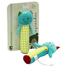 Buy Kimber Kids Kat Cat Squeaker Toy Online at johnlewis.com