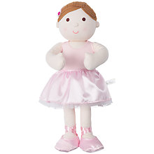 Buy Silver Cross Darcey Ballerina Rag Doll Online at johnlewis.com