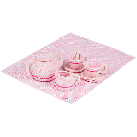 Buy Silver Cross Tea for Two Fabric Tea Set Online at johnlewis.com