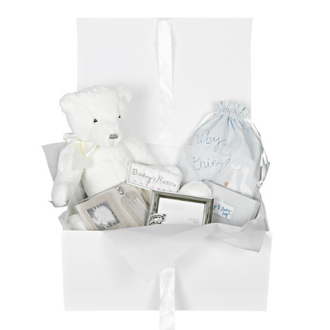 Buy John Lewis Baby Hamper, Blue Online at johnlewis.com
