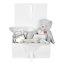 Buy John Lewis Baby Hamper, Cream Online at johnlewis.com