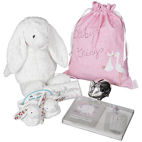 Buy John Lewis Baby Hamper, Pink Online at johnlewis.com