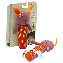 Buy Kimber Kids Bobo Rabbit Squeaker Toy Online at johnlewis.com