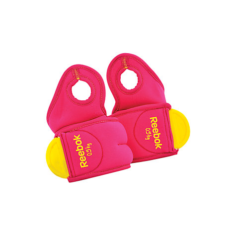 Buy Reebok Wrist Weights, Pink, 2 x 0.5kg Online at johnlewis.com