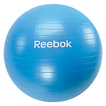 Buy Reebok Gym Ball, Blue, 65cm Online at johnlewis.com