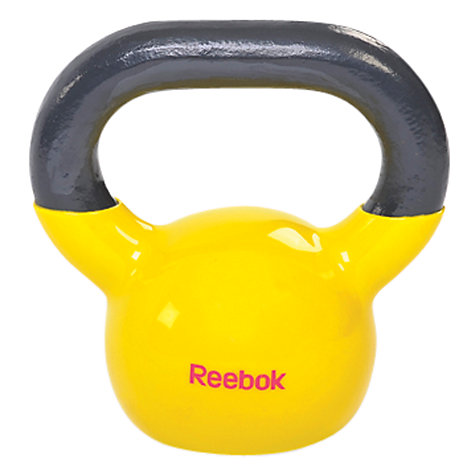 Buy Reebok Kettlebell, Yellow, 5kg Online at johnlewis.com
