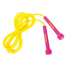 Buy Reebok Speed Skipping Rope, Pink Online at johnlewis.com