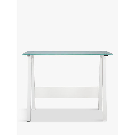 Buy John Lewis James Desk, White Online at johnlewis.com