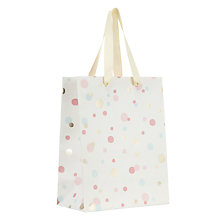 Buy John Lewis Confetti Gift Bag, Small Online at johnlewis.com