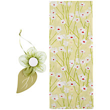 Buy John Lewis Blossom Tissue Paper Set, Green Online at johnlewis.com