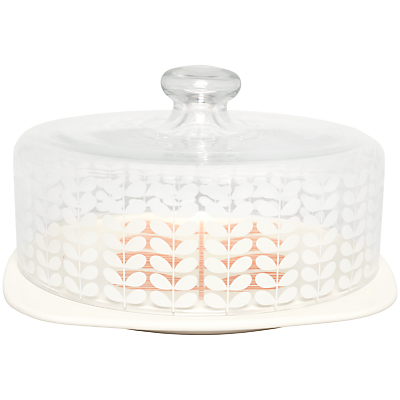 Orla Kiely Multi Stem Cake Dome, Cream