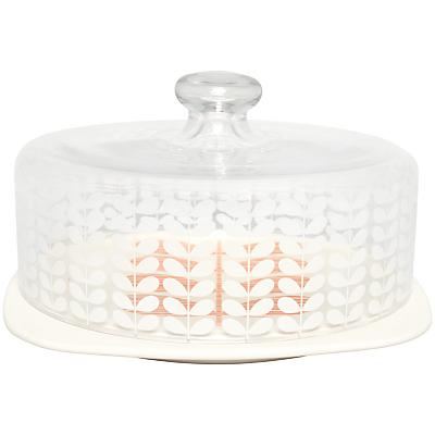 Orla Kiely Multi Stem Cake Dome, Cream