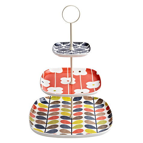 Buy Orla Kiely Multi Stem Cake Stand Online at johnlewis.com