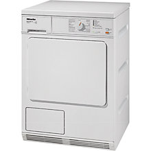 Buy Miele T8812C Edition 111 Condenser Tumble Dryer, 7kg Load, B Energy rating, White Online at johnlewis.com