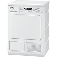 Buy Miele T8860WP Edition 111 Condenser Tumble Dryer, 8kg Load, A Energy Rating, White Online at johnlewis.com