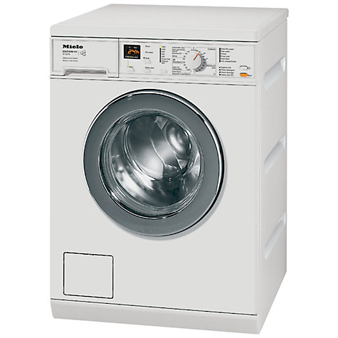 Buy Miele W3370 Edition 111 Washing Machine, 7kg Load, A++ Energy Rating, 1400rpm Spin, White Online at johnlewis.com