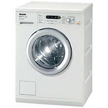 Buy Miele W5872 Edition 111 Washing Machine, 8kg Load, A+++ Energy Rating, 1600rpm Spin, White Online at johnlewis.com