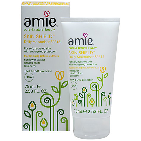 Buy Amie Skin Shield Daily Moisturiser SPF15, 75ml Online at johnlewis.com