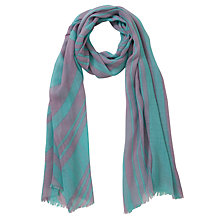 Buy COLLECTION by John Lewis Tonal Zigzag Scarf Online at johnlewis.com