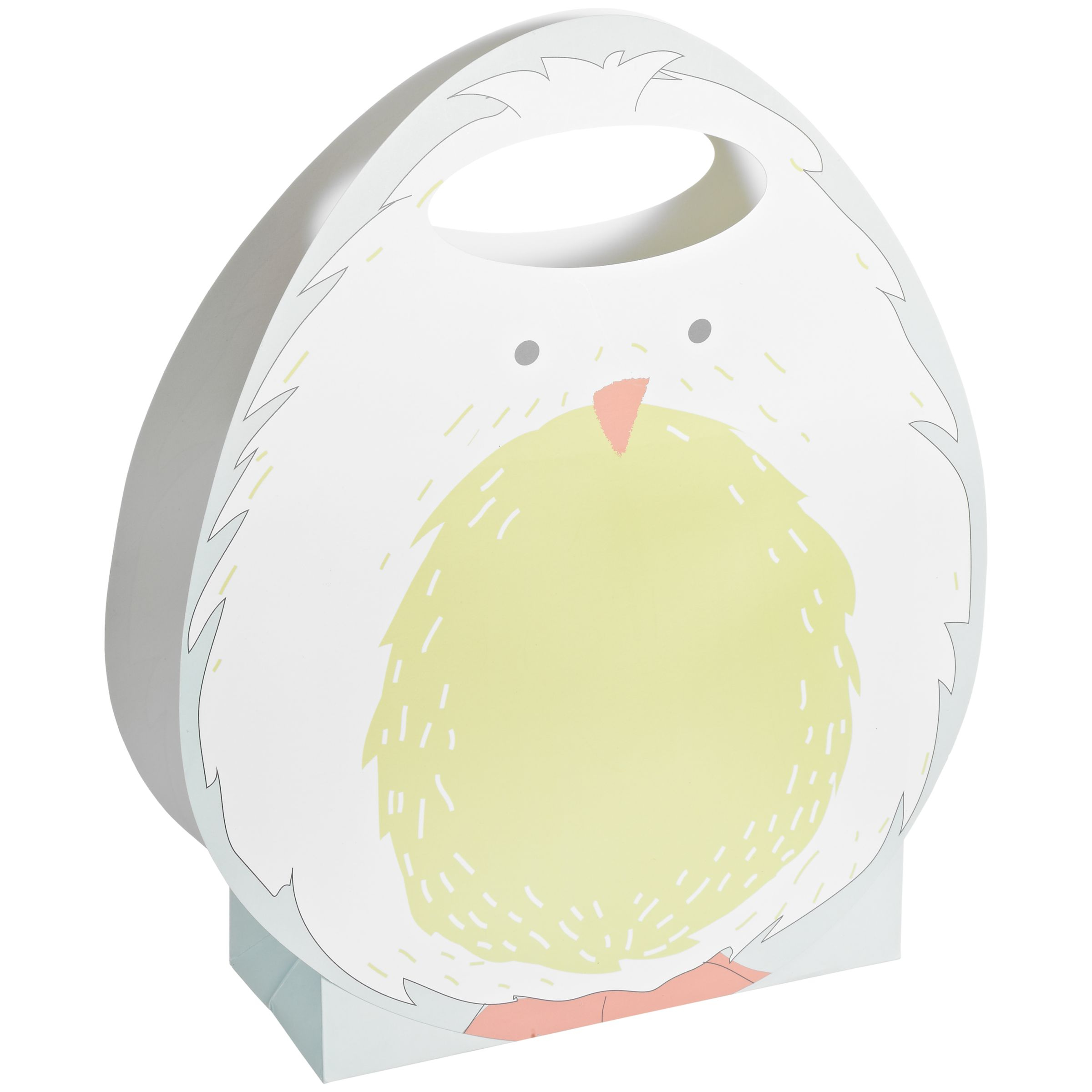 John Lewis Easter Chick Gift Bag, Multi