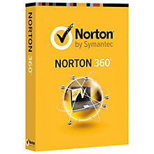 Buy Norton 360 2013 for PC, 1 User with 3 PCs Pack Online at johnlewis.com