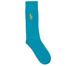 Buy Polo Ralph Lauren Flat Stitch Plain Socks Online at johnlewis.com